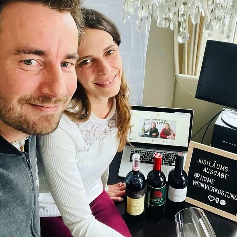 Patrick Bayer, Katja Bernegger, Live-Weinverkostungen