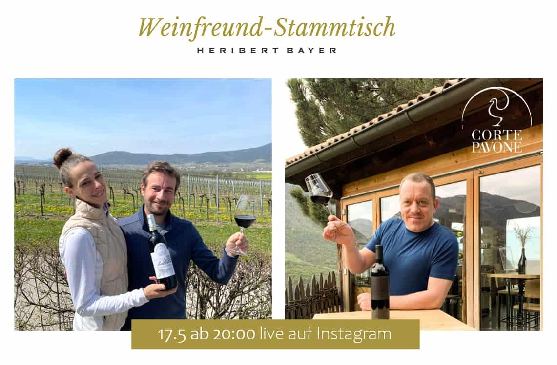 Winetasting Heribert Bayer und Tenuta Corte Pavone