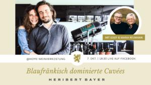Online Verkostung Heribert Bayer mit Josef und Maria Reumann