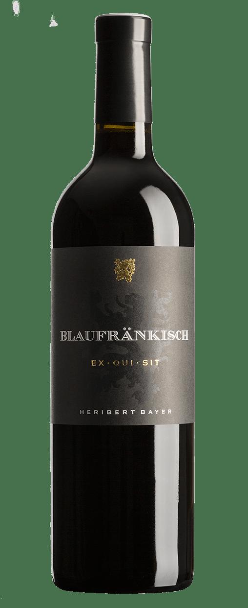 Blaufränkisch EX·QUI·SIT Rotweinflasche
