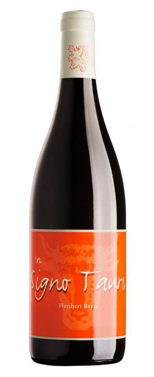 In Signo Tauri Pinot Noir Rotweinflasche