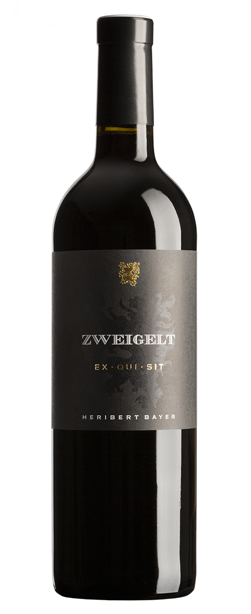 Zweigelt Exquisit Rotweinflasche